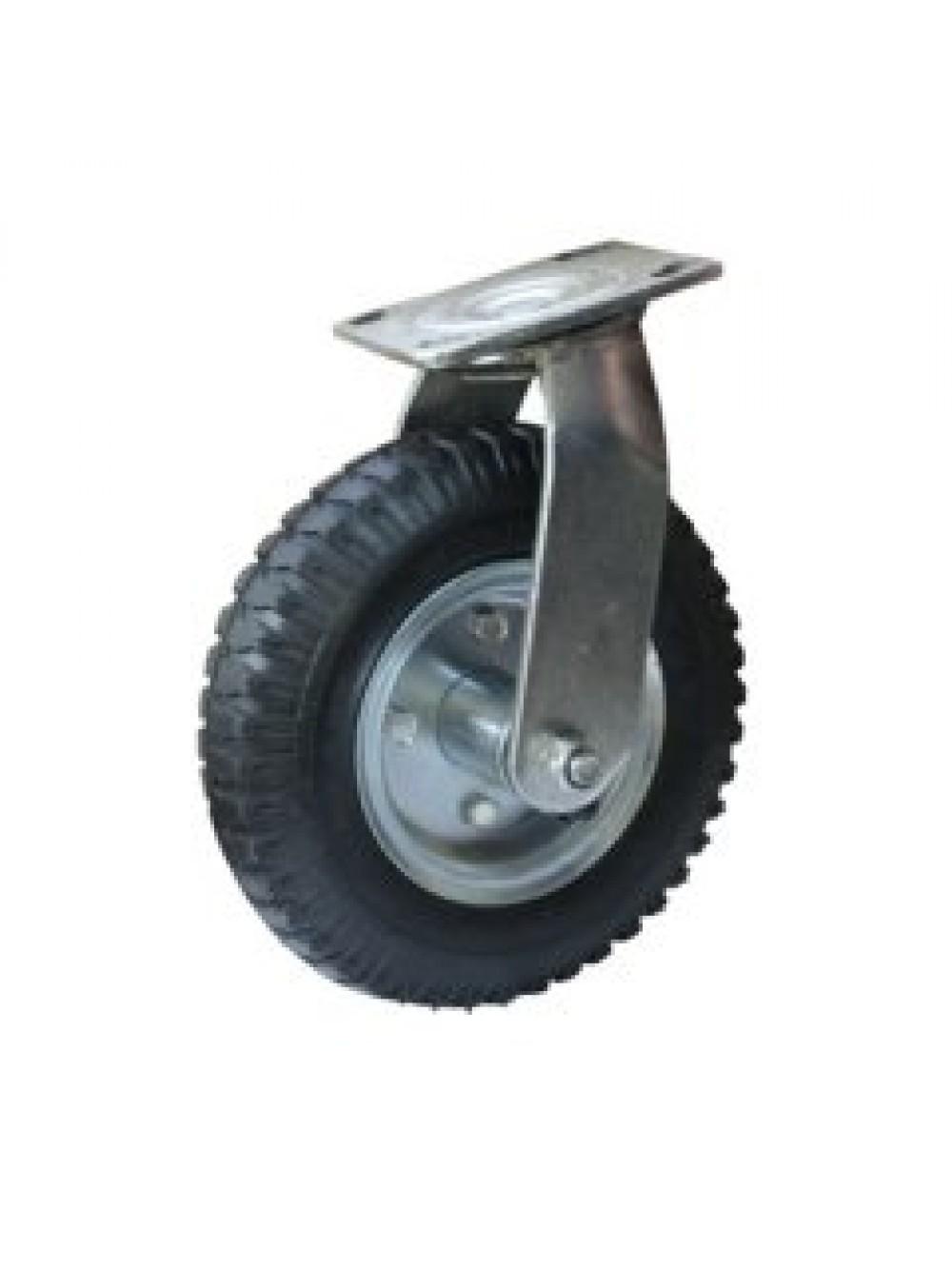 Колеса пневматические с поворотной опорой