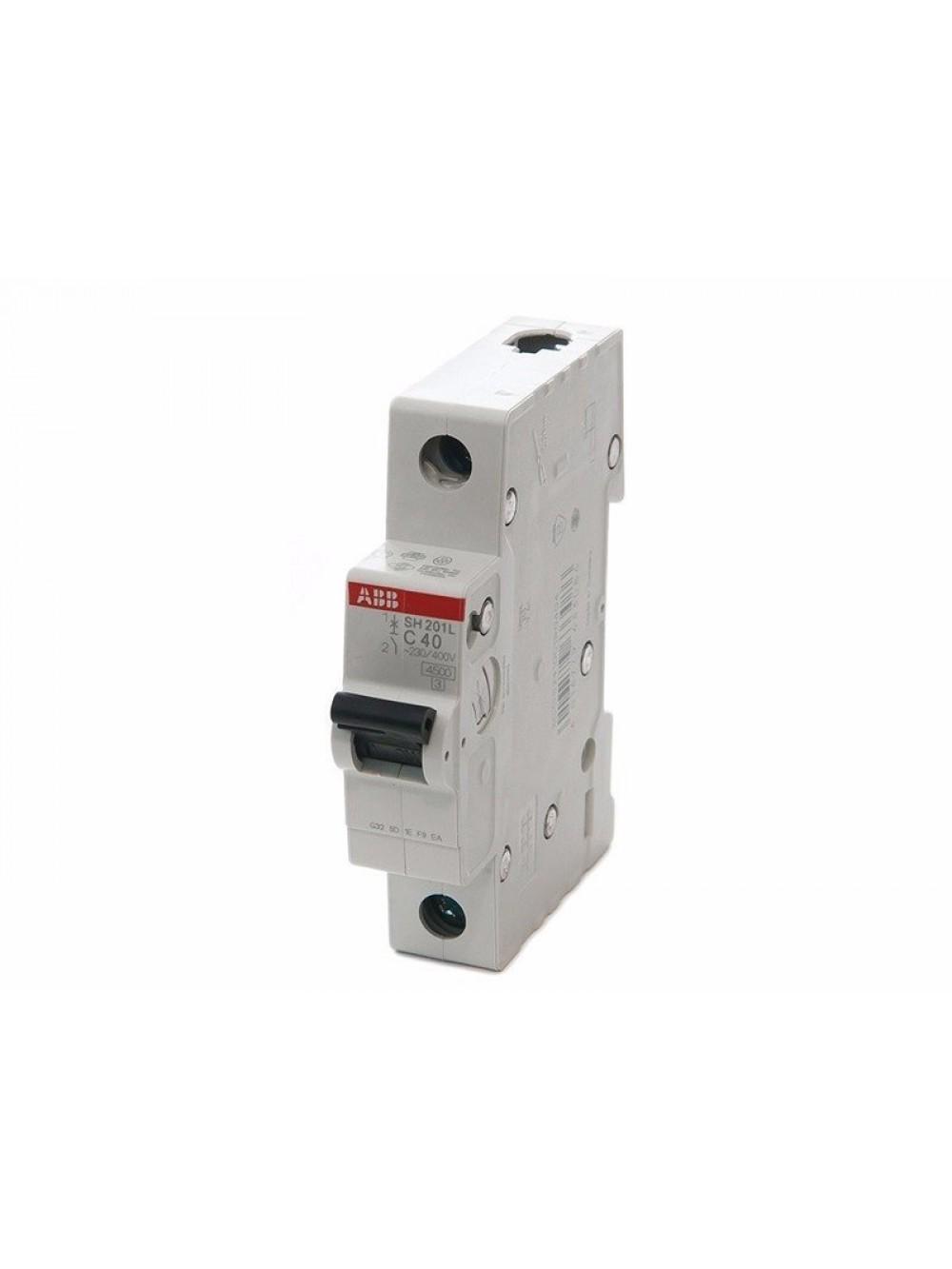 Выключатель автоматический мод. 1п C SH201L 4.5кА ABB