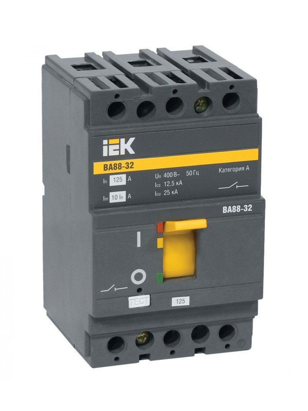 Выключатели автоматические 3п 16-100А ВА 88-32 ИЭК