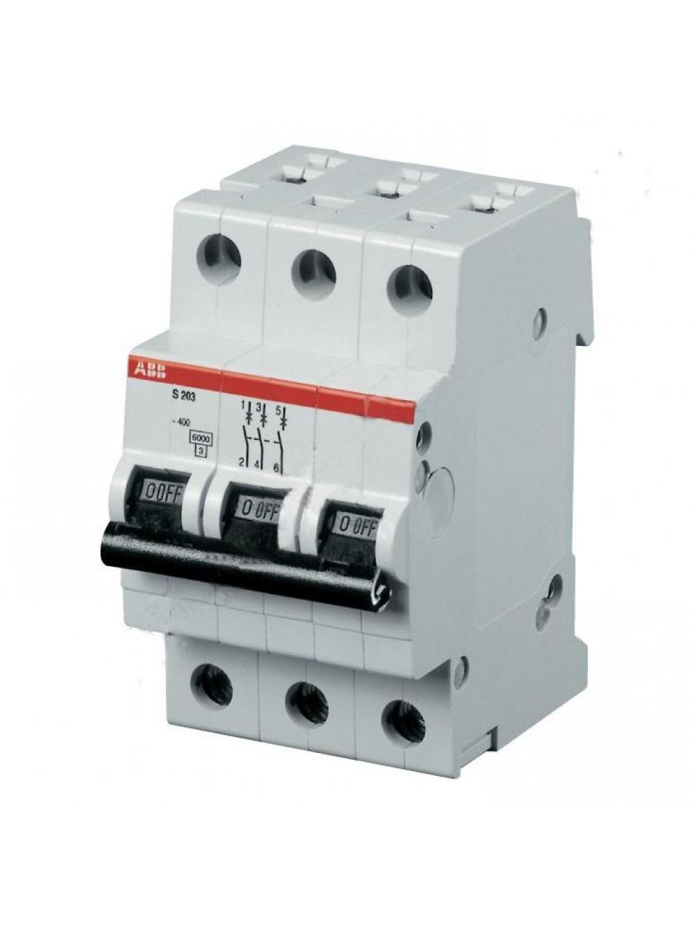 Автоматический выключатель 3п S200-compact