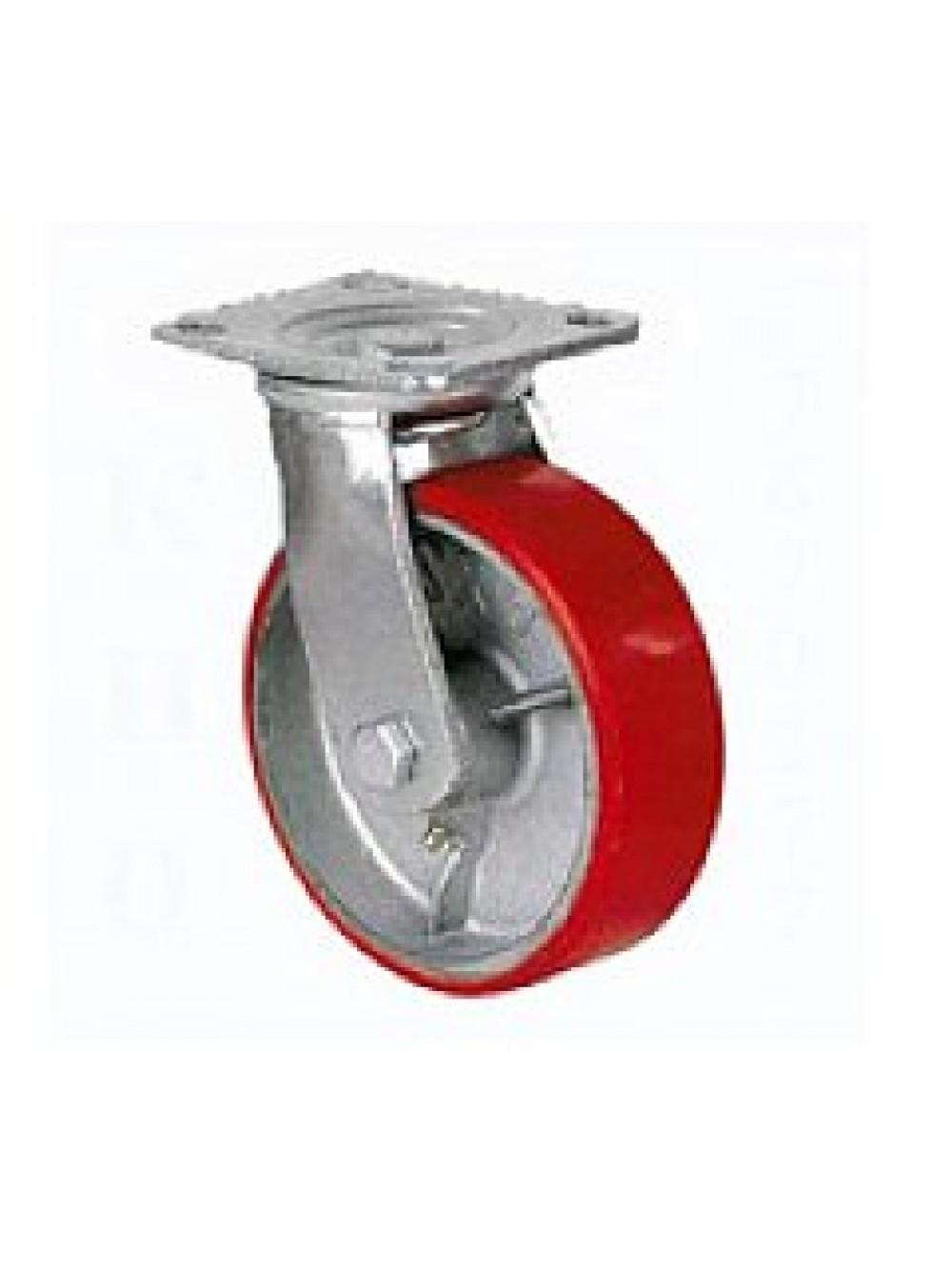 Колесо большегрузное полиуретановое поворотное