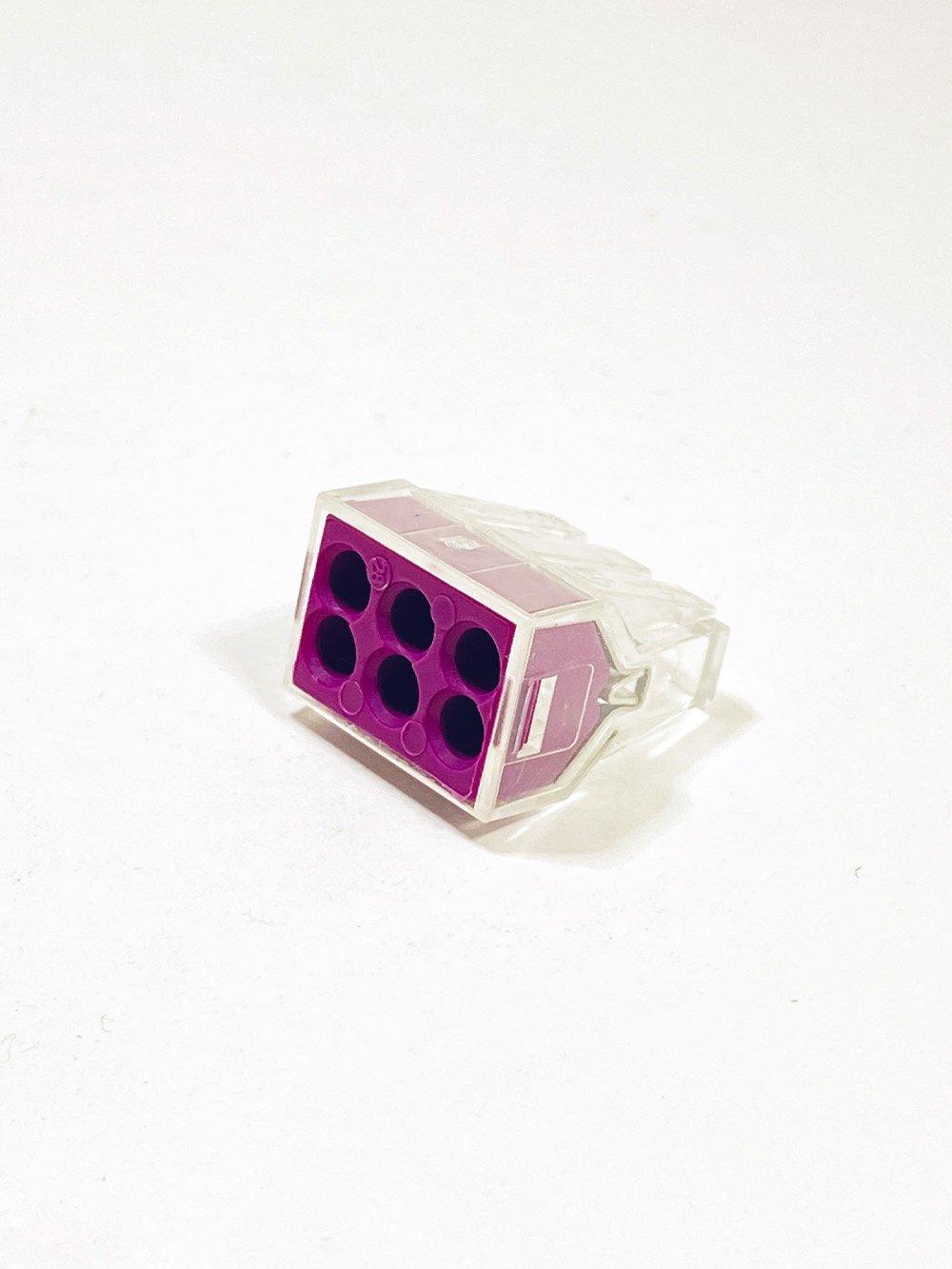 Клеммник IEK 6-й для жестких проводов
