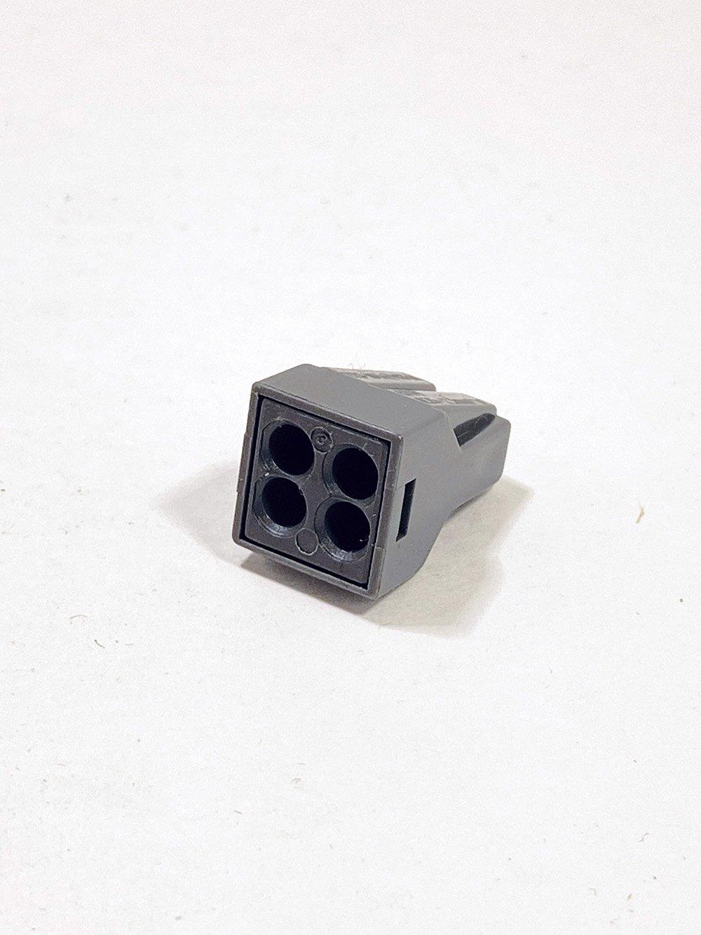 Клеммник IEK 4-й для жестких проводов