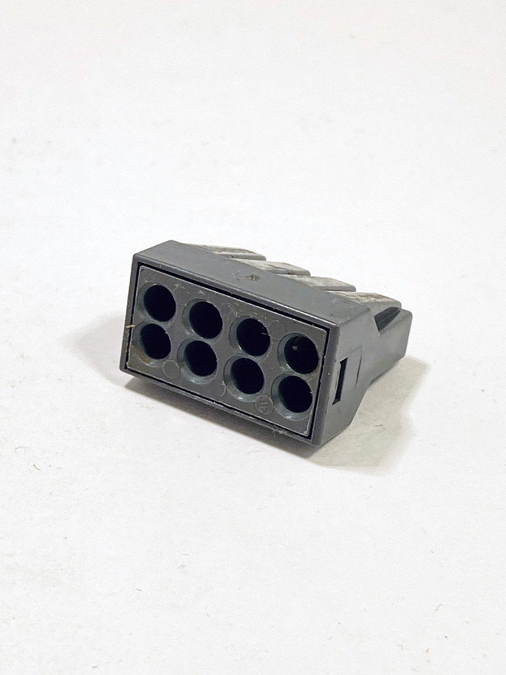 Клеммник IEK 8-й для жестких проводов
